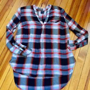 GAP Flannel Tunic